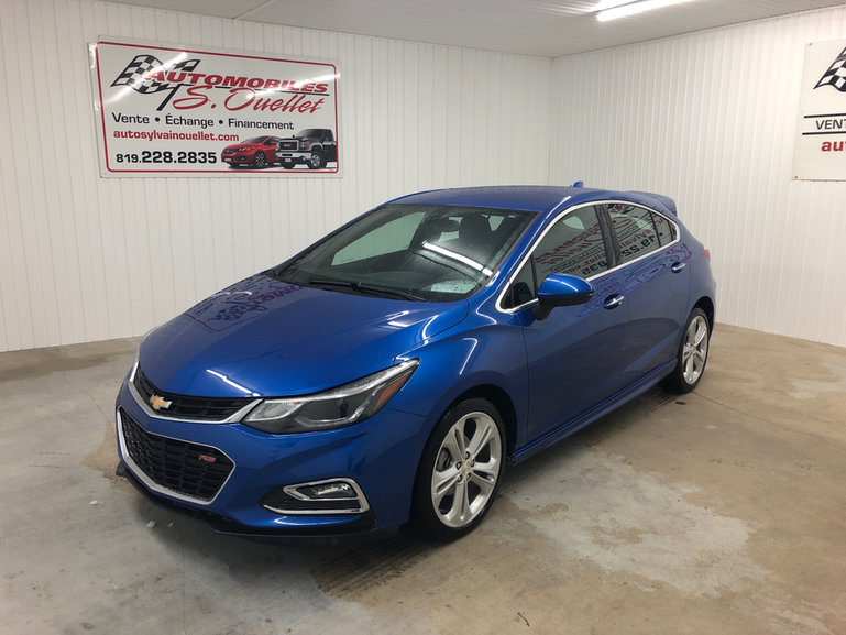 Automobiles Sylvain Ouellet Inc Pre Owned 2018 Chevrolet Cruze Premier Rs For Sale In Louiseville