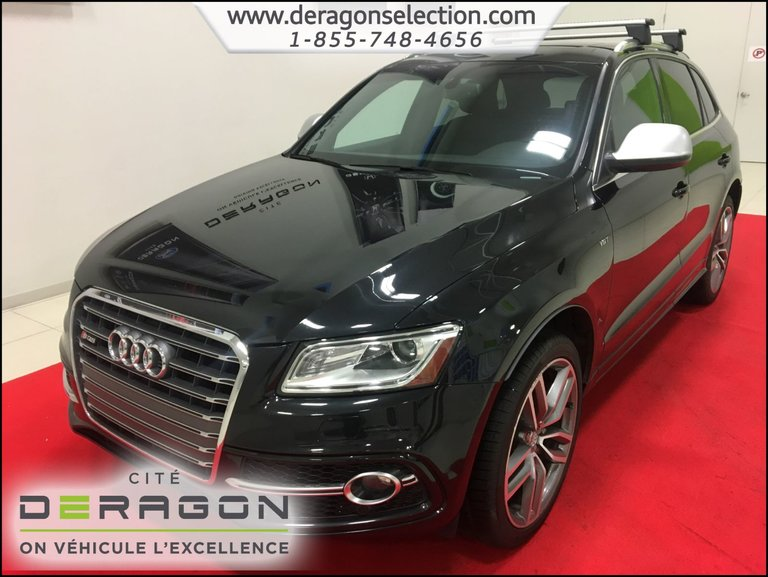 2014 Audi SQ5 TECHNIK + *354HP* + NAV + CAMERA + TOIT