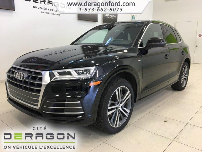 2018 Audi Q5 PROGRESSIV S-LINE TOIT PANO ROUES 20