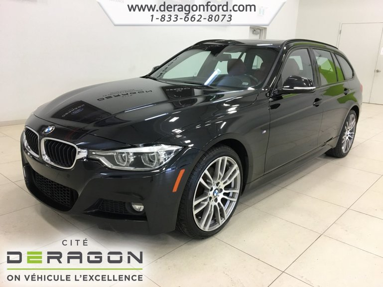 2016 BMW 3 Series 328i xDrive TOURING M SPORT PACK CUIR ROUGE NAV
