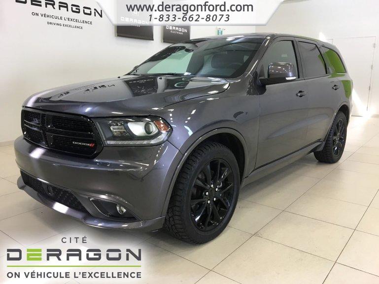 2017 Dodge Durango R/T TECH PACK - BLACKTOP - TOIT - MAGS 20P - NAV