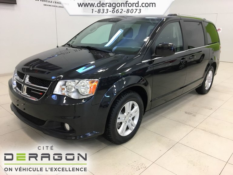 Dodge Grand Caravan CREW PLUS + CAMERA + CUIR + PORTE ELECTRIQUE 2018