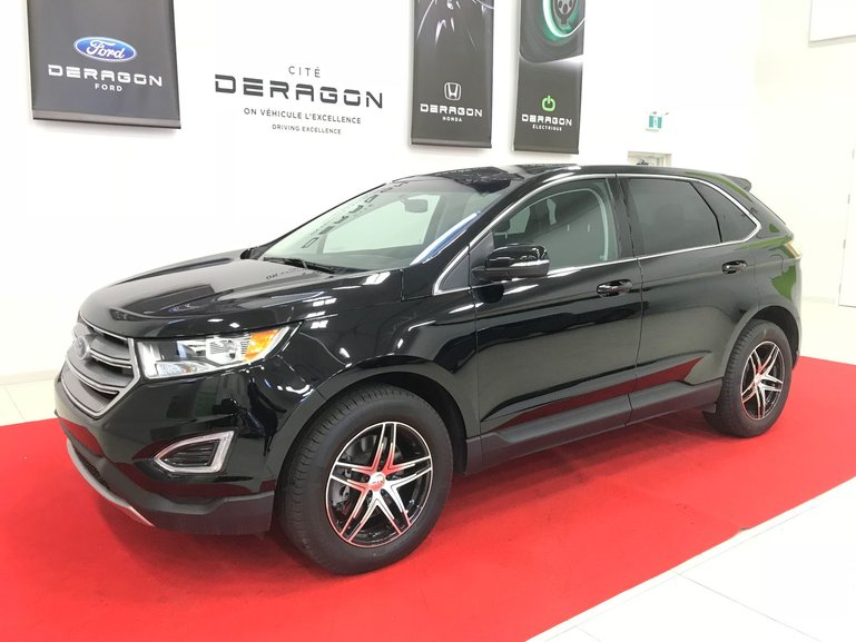 Ford Edge SEL + TOIT PANORAMIQUE + GPS + AWD 2017