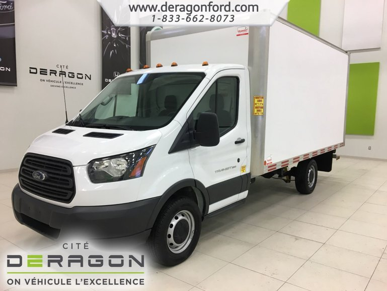 Ford TRANSIT CUTAWAY TRANSIT 350 - CUBE - 14 PIEDS - PAS D'INSPECTION 2016