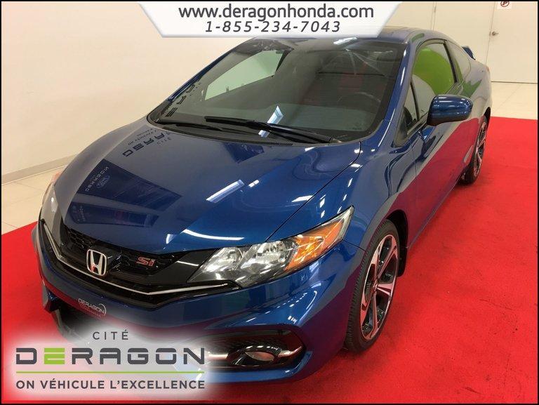 Honda Civic Coupe SI 2.4L + AILERON + CAMÉRA DE RECUL + A/C 2015