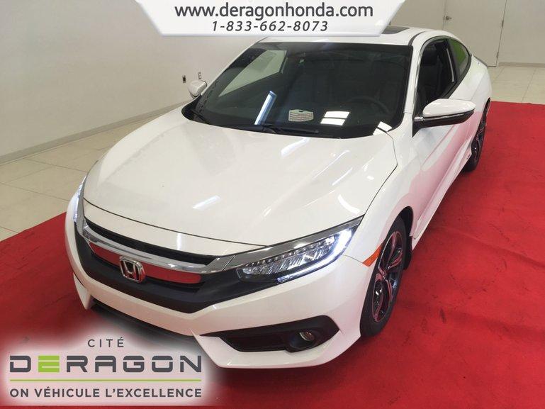 2018 Honda Civic Coupe TOURING+108$/SEM+APPLECARPLAY+ANDROIDAUTO