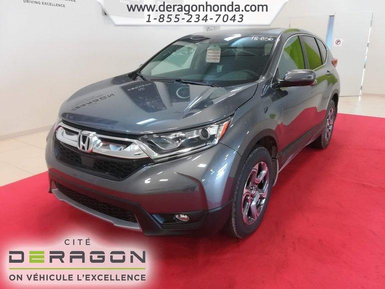 2018 Honda CR-V EX-L 4 ROUES MOTRICES 1.5L TURBO 190 CH CVT