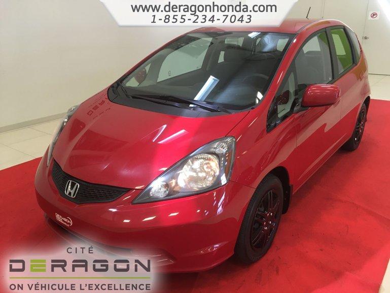 Honda Fit LX + PROPRIETAIRE UNIQUE + BIEN ENTRETENU 2014