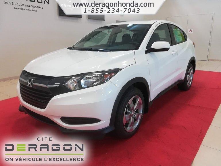2018 Honda HR-V LX 4WD 1.8L 141 CH + ROUES 17PO