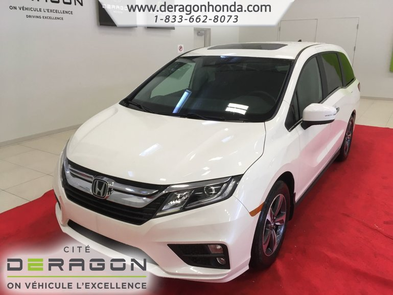 2019 Honda Odyssey EX RES+DVD+8 PASSAGERS+9 VITESSES+TOIT OUVRANT