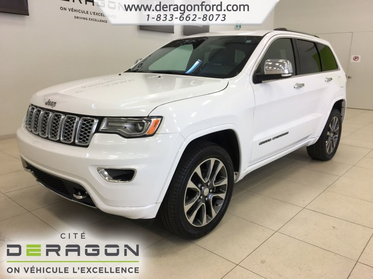 2018 Jeep Grand Cherokee OVERLAND 4X4 TOIT PANO NAV CAMERA DEMARREUR HITCH