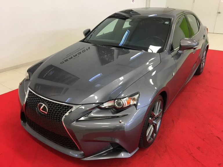 Lexus IS 350 F SPORT + AWD + TOIT + NAV + CAMERA 2015