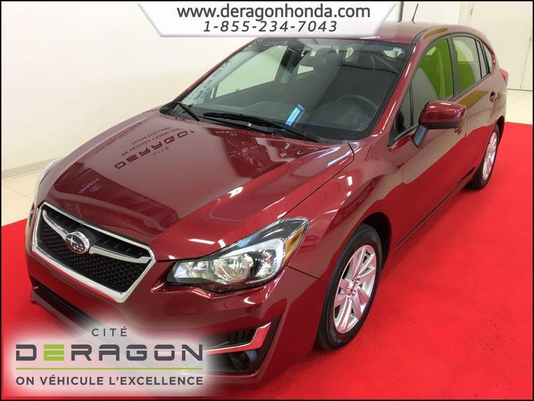 2015 Subaru Impreza SPORT PACKAGE 2.0L TRACTION INTÉGRALE