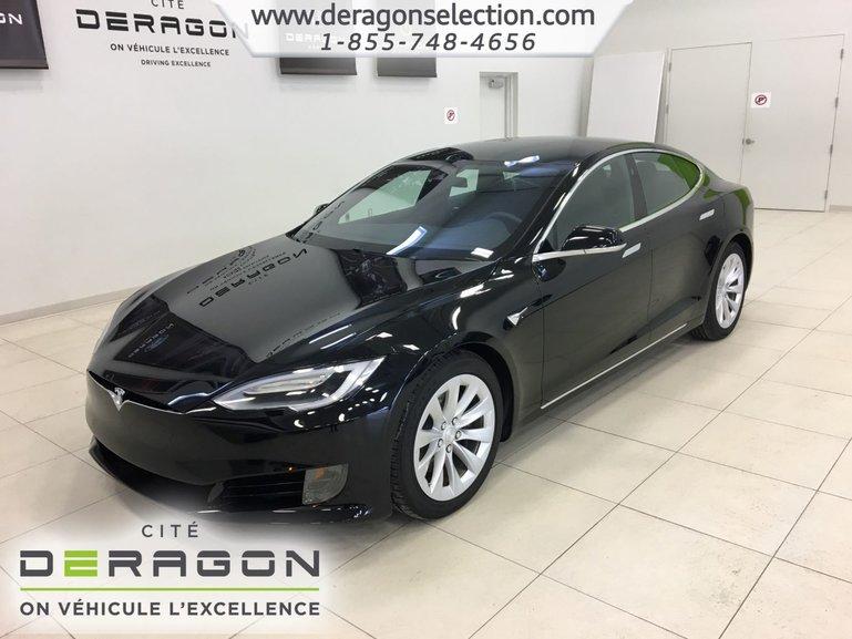 Tesla Model S 60D + CLIMAT GLACIAL + AUTOPILOTE + NAV V.NEUF 2016