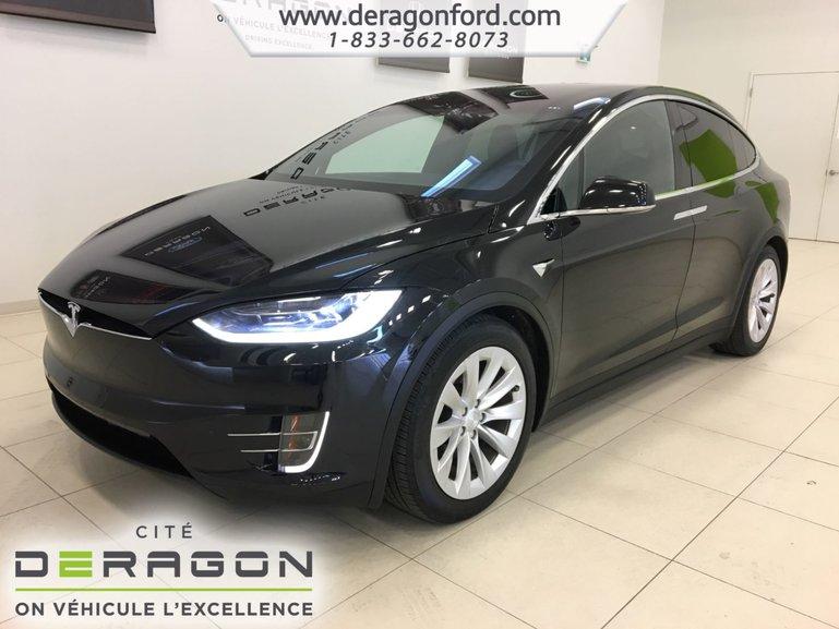2017 Tesla Model X 90D TOWING PACK AUTOPILOT CLIMAT GLACIAL