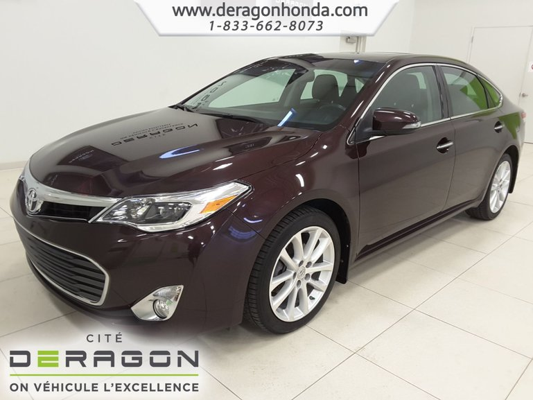 2013 Toyota Avalon XLE+CUIR+TOIT OUVRANT+CAMERA+BLUETOOTH+A/C
