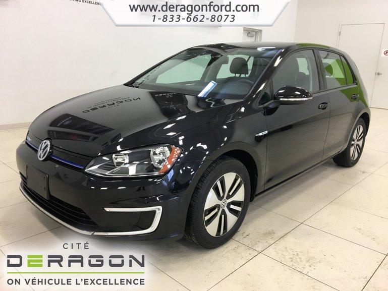 2016 Volkswagen E-Golf EV SE ROUES 16