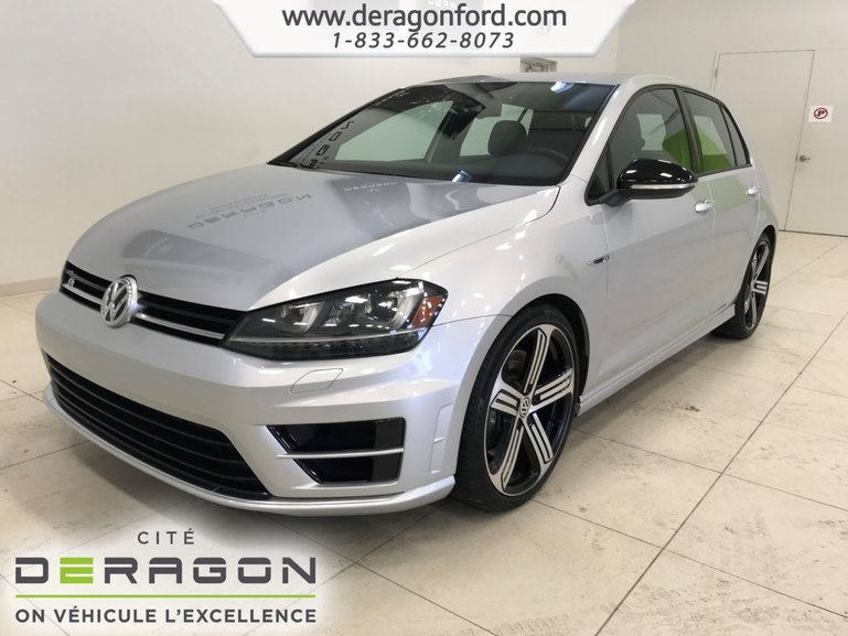 2016 Volkswagen Golf R DSG ROUES 19