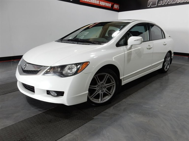 Acura CSX Type S-CUIR-TOIT-MAGS-SIEGES CHAFFANTS 2009