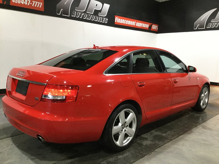 2007 Audi A6 3.2L-CUIR-TOIT-AWD-S LINES