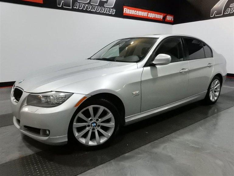 2011 BMW 328 I xDrive-AWD- NAVI-CUIR-TOIT-JAMAIS ACCIDENTE