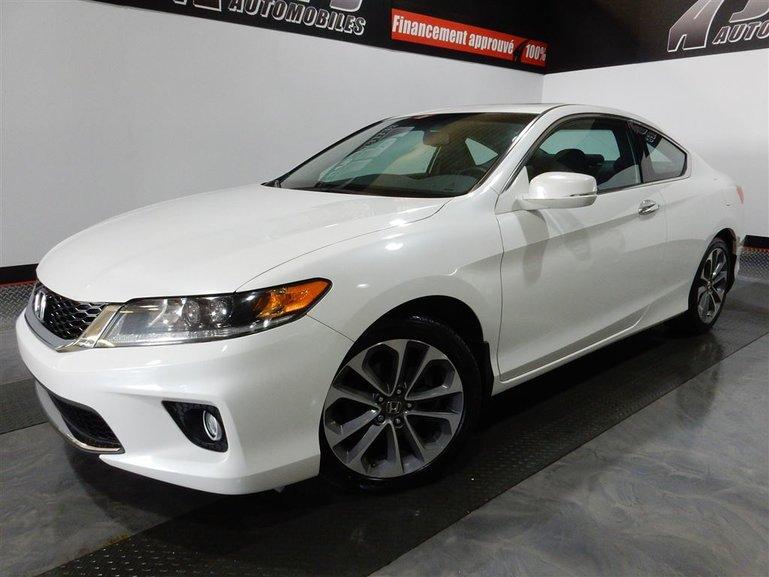 Honda Accord EX-L-NAVI-CUIR-TOIT- V6 -A/C-JAMAIS ACCIDENTE 2013