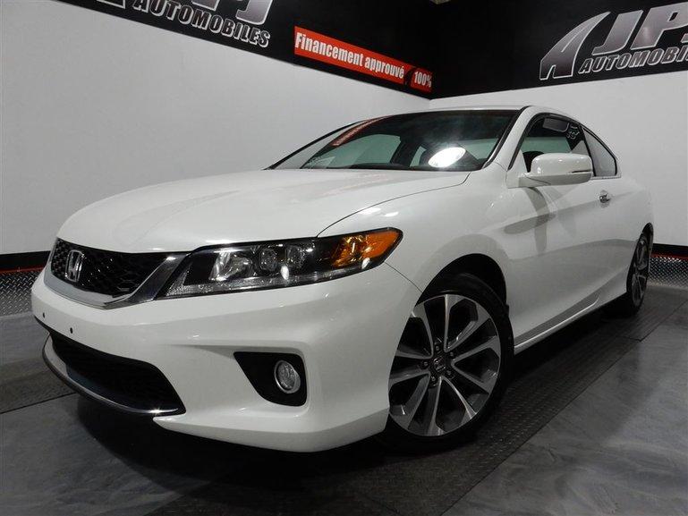 Honda Accord EX-L-NAVI-CUIR-TOIT-V6-JAMAIS ACCIDENTE 2013