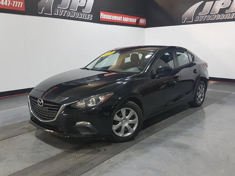 2014 Mazda Mazda3 GX-SKY- A/C - JAMAIS ACCIDENTE