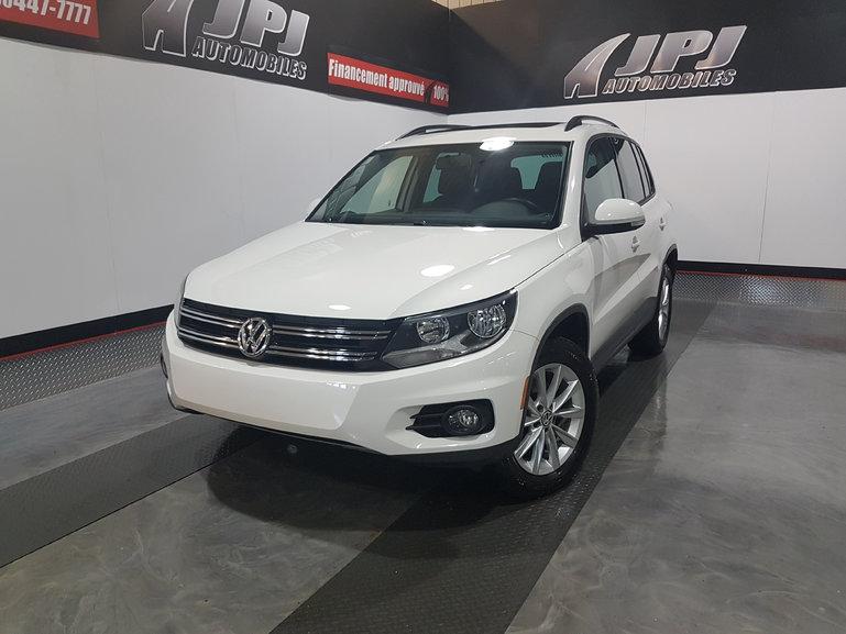 2013 Volkswagen Tiguan AWD-CONFORTLINE-CUIR-TOIT-JAMAIS ACCIDENTE