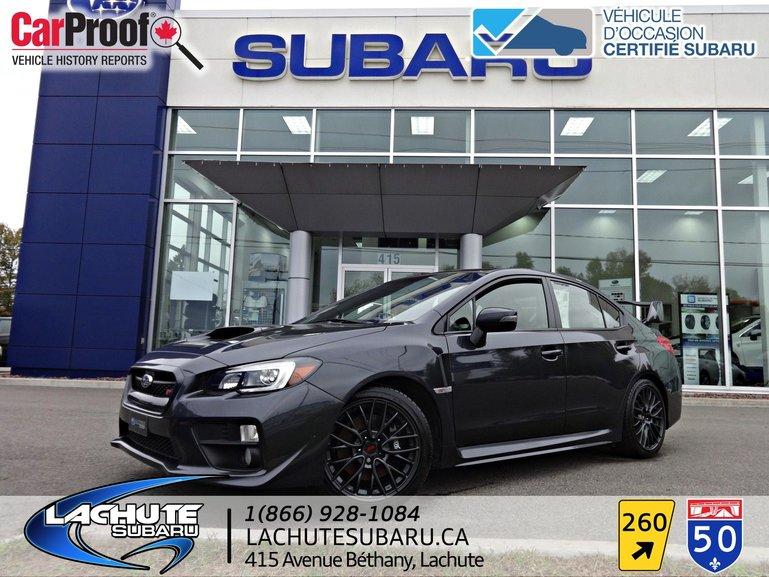 Lachute Subaru Pre Owned 2017 Subaru Wrx Sti For Sale In Lachute