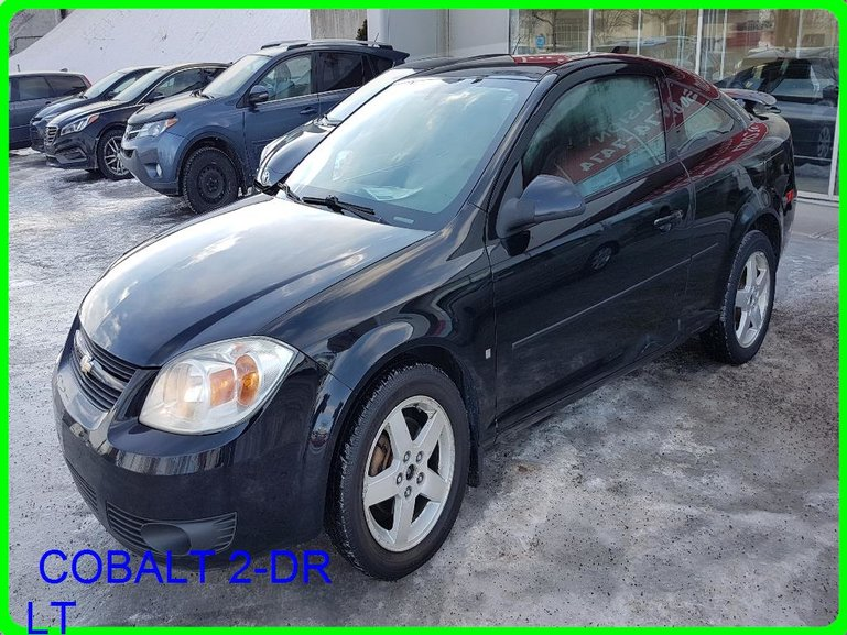 Longueuil Toyota Neuf Pre Owned 2008 Chevrolet Cobalt 2 Dr Lt A C Toit Mags Pneus D Hiver Bas Kilo For Sale In Longueuil