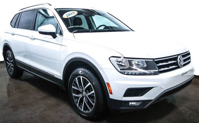 2018 Volkswagen Tiguan Comfortline  AWD  Toit  ouvrant Mags  Camera