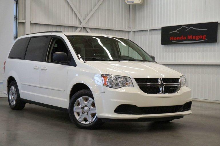 Sherbrooke Honda Pre Owned 2012 Dodge Grand Caravan Se Valeur Plus
