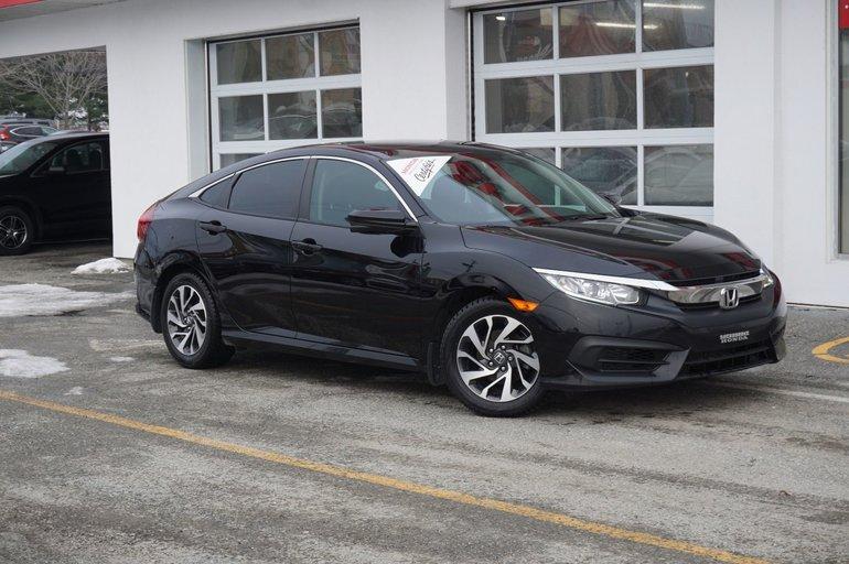 Honda Civic EX - toit ouvrant 2016