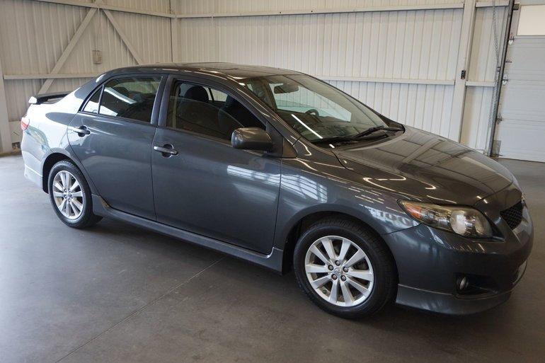 Toyota Corolla S groupe électrique 2009