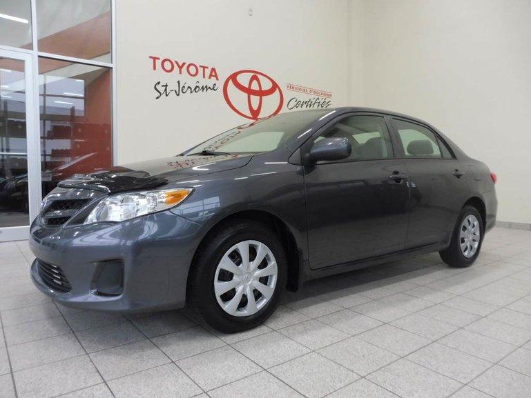Toyota Corolla ** GR ELECT *** TOIT *** BLUETOOTH *** 2013