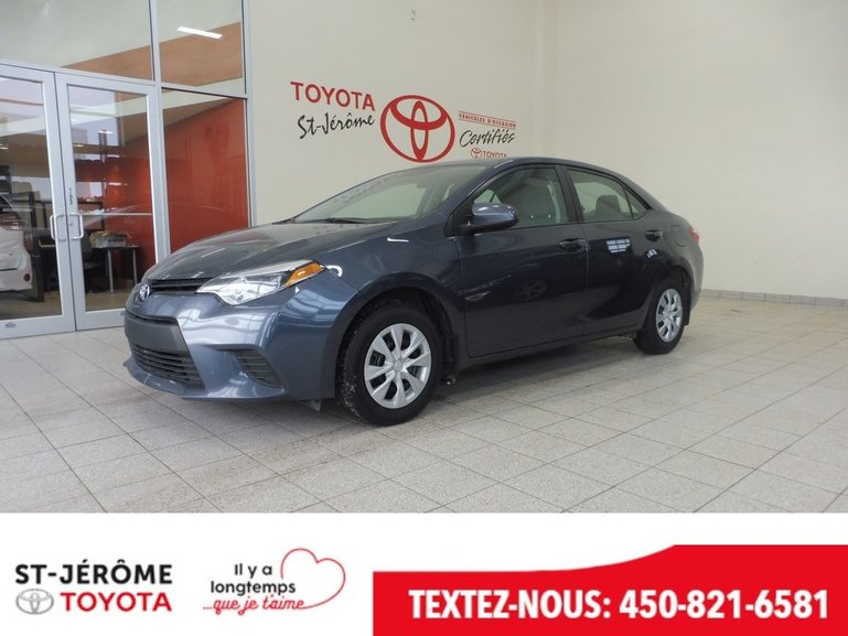 Toyota Corolla * CE * A/C * BLUETOOTH * 2015