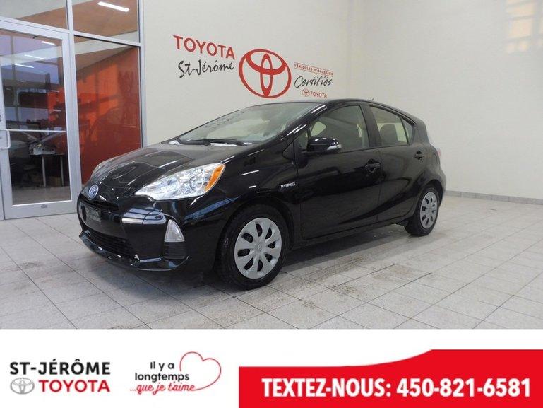 Toyota Prius C ** HYBRIDE ** GR. ÉLEC. * BLUETOOTH * 2014
