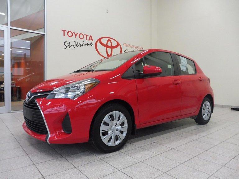 Toyota Yaris * AUTOMATIQUE * AIR * GR ÉLEC * 35 000 KM * 2015