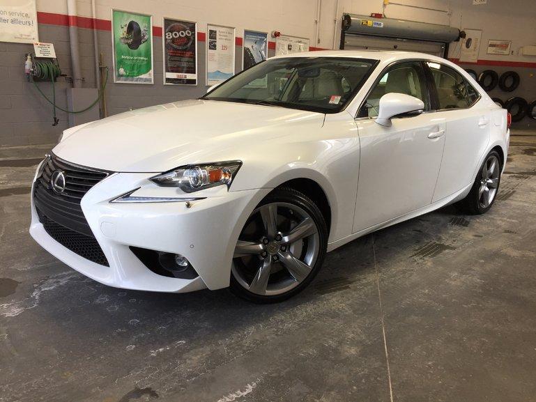 Lexus IS 350 AWD LUXURY *BAS KILOMÉTRAGE* 2015