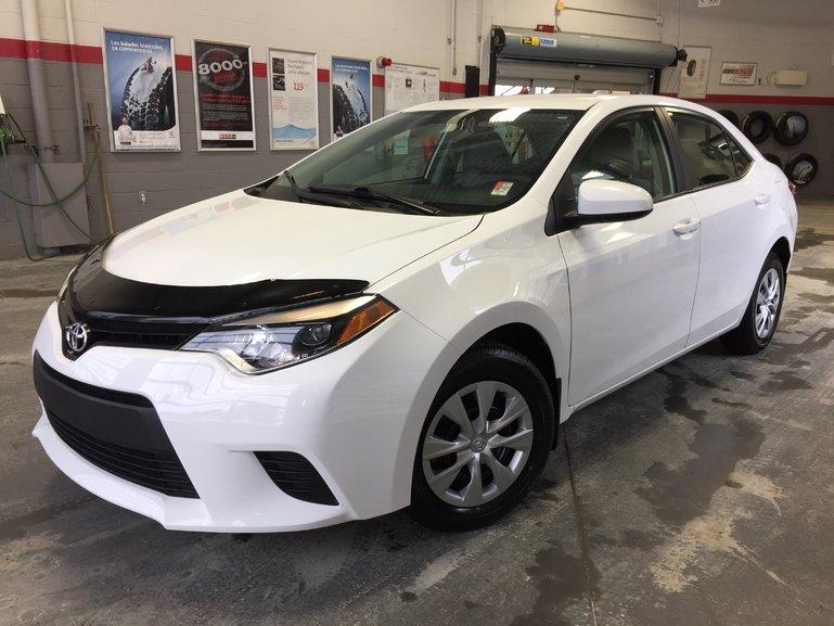 Toyota Corolla LE ECO *TRÈS ÉCONOMIQUE* 2014
