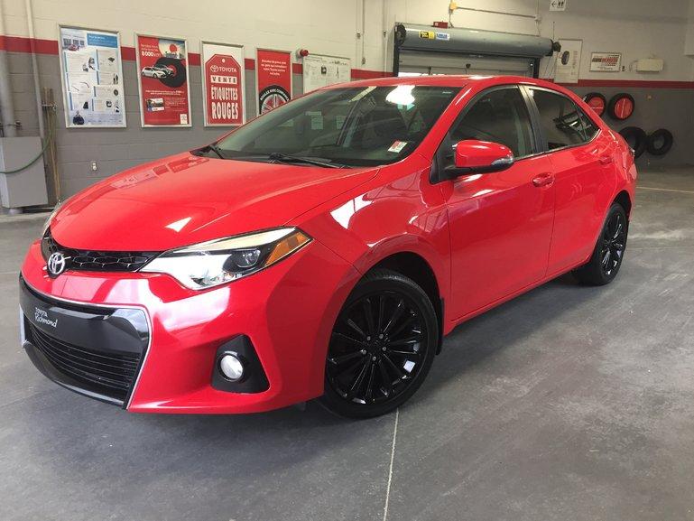 Toyota Corolla S Gr:K *50e ANNIVERSAIRE + AUTOMATIQUE* 2015