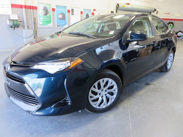 Toyota Corolla LE Gr:A *CAMÉRA + SIÈGES CHAUFFANTS* 2017