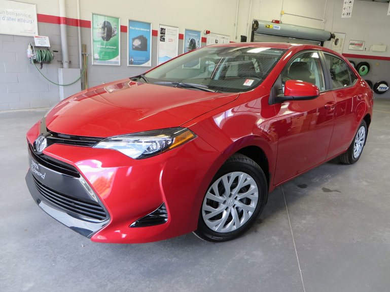 Toyota Corolla LE Gr:A * SEULEMENT 2,200 KM* 2018