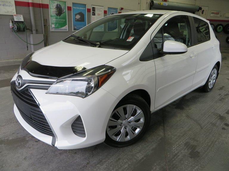 Toyota Yaris LE Gr:B *AUTOMATIQUE + A/C + BAS KILO* 2015
