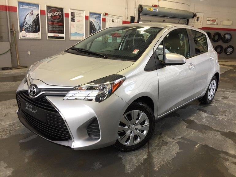 Toyota Yaris LE Gr:B *GARANTIE PROLONGÉE + A/C + AUTOMATIQUE* 2015