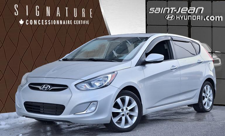 Hyundai ACCENT (5) GLS + MAG, BLUETOOTH, CLIM AUTO, SIEGE CHAUFFANT + 2013