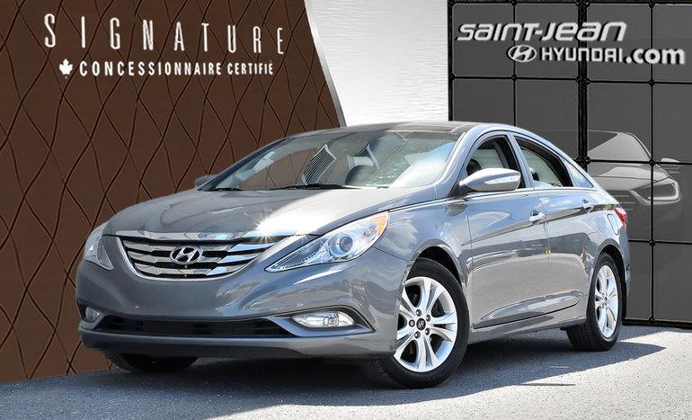 Hyundai Sonata LTD / INT CUIR / TOIT PANORAMIQUE 2012
