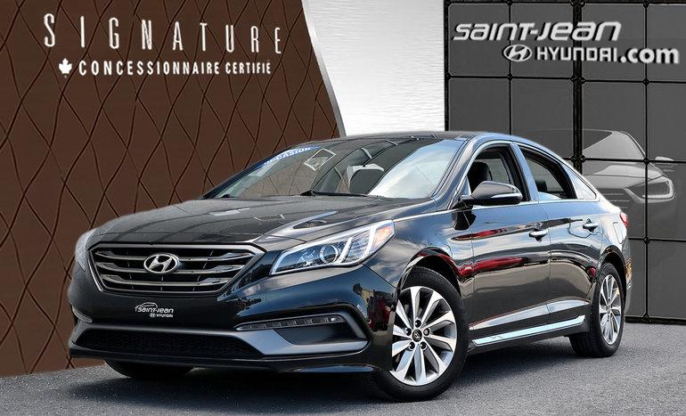 Hyundai Sonata 2.4L Sport  /  DÉMARREUR / TOIT PANO / INT CUIR 2015