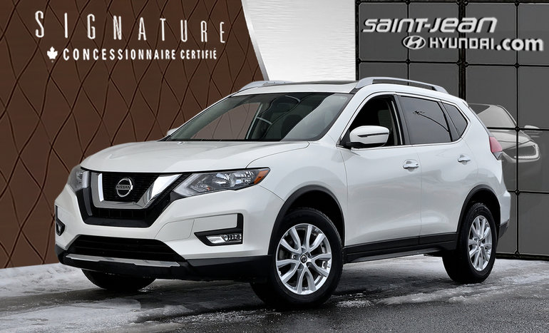 Nissan Rogue SV/ TOIT PANORAMIQUE /DÉMARREUR / CAMERA 2018